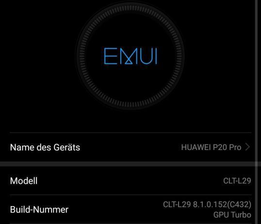 Huawei P20 Pro Firmware Update Gpu Turbo