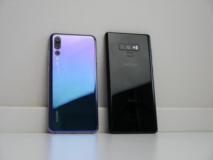 P20 Pro Note 9 Back