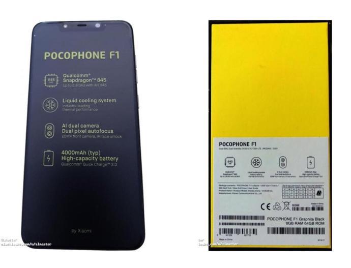 Pocophone 1 Leak