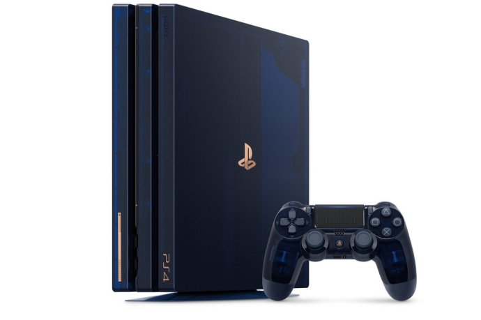 Ps4 Pro Limited 500 Million Detail