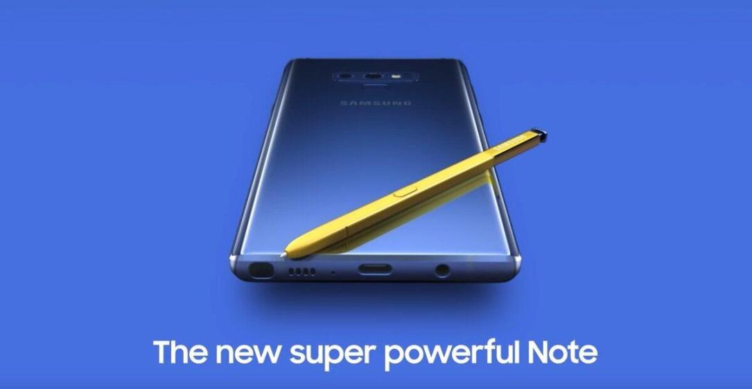 Samsung Galaxy Note 9 Leak