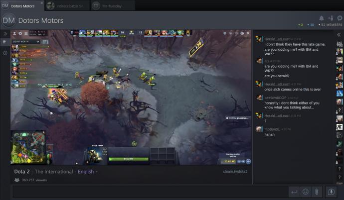 Steam Tv Screenshot
