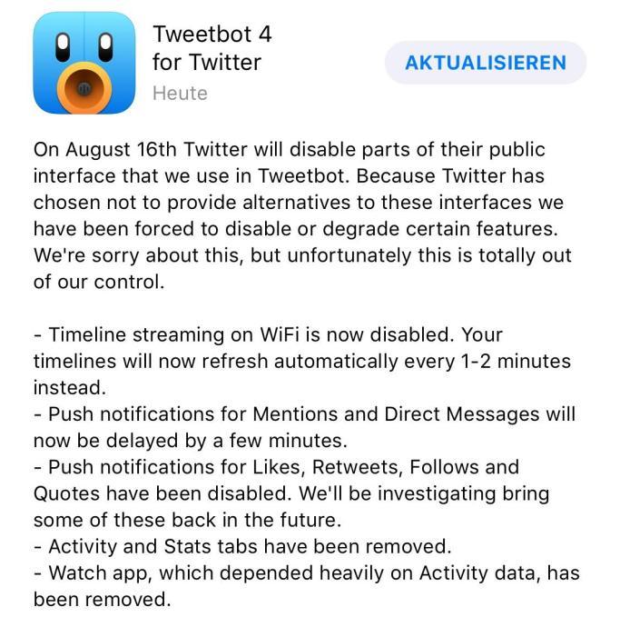 Tweetbot Changelog