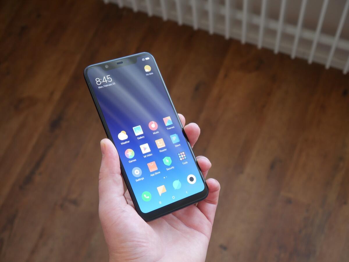 Xiaomi Mi 8 Unboxing1