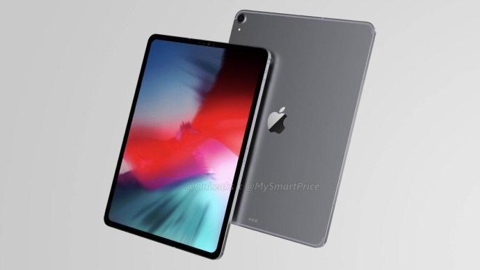 Apple Ipad Pro 2018 Render2