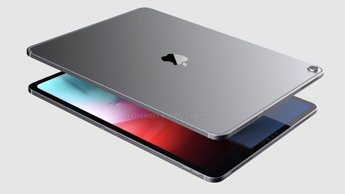 Apple Ipad Pro 2018 Render4