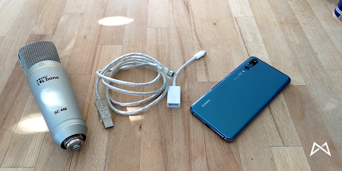 Huawei P20 Pro Externes Mikrofon Workaround 2018 09 12 16.28.15
