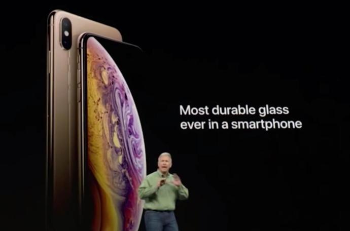 Iphone Xs Glas Haerte