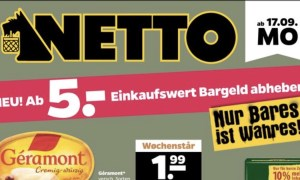 Netto Hund Bargeld