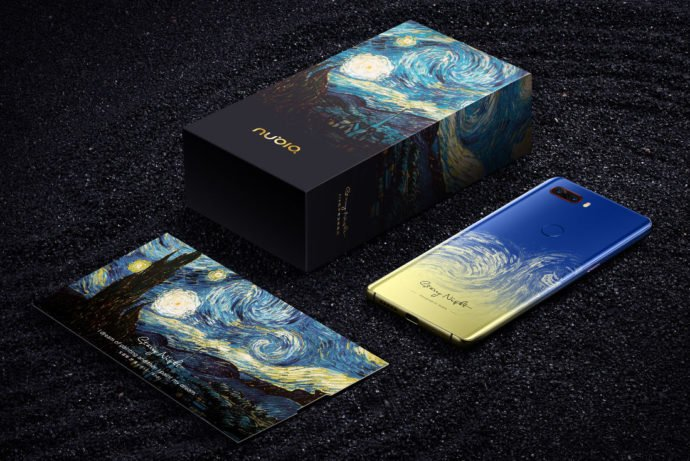 Nubia Z18 Van Gogh Edition