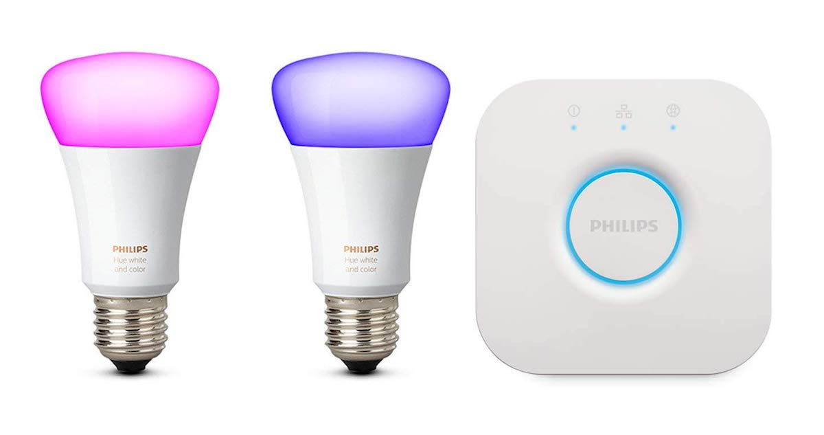 Philips Hue Starterset Header