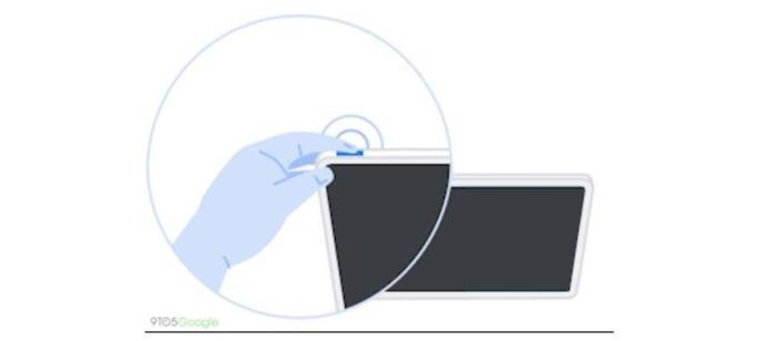 Pixelbook Chrome Fingerabdruck