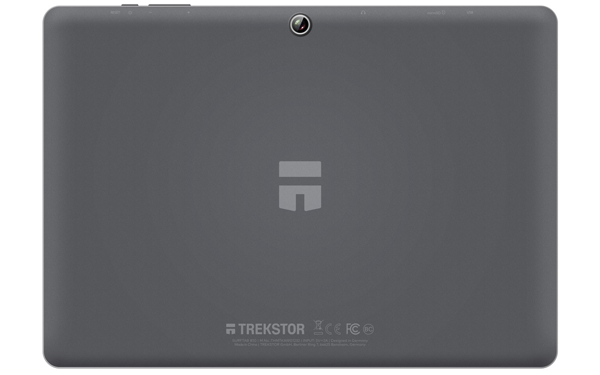 Trekstor Surftab B10 Back