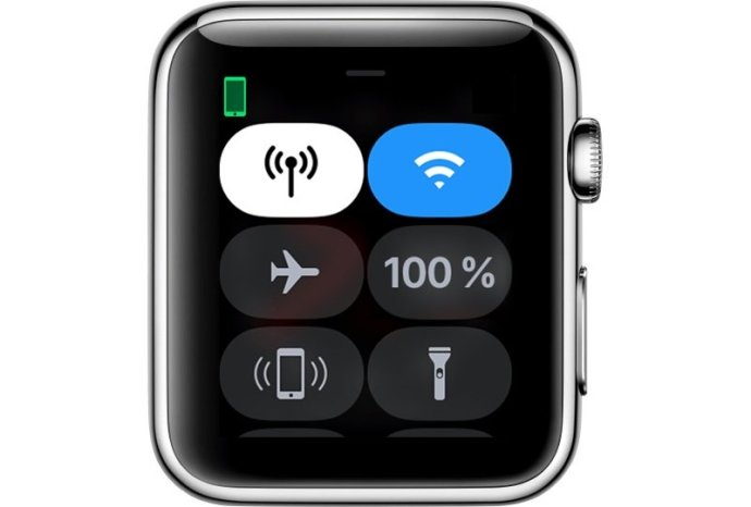 Watchos4 Series3 Control Center Open