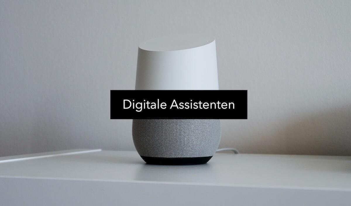 Digitale Assistenten Header
