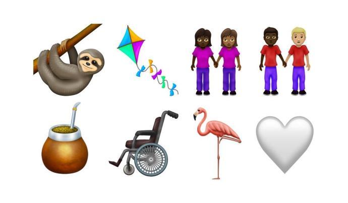 Emoji 2019 Vorschau