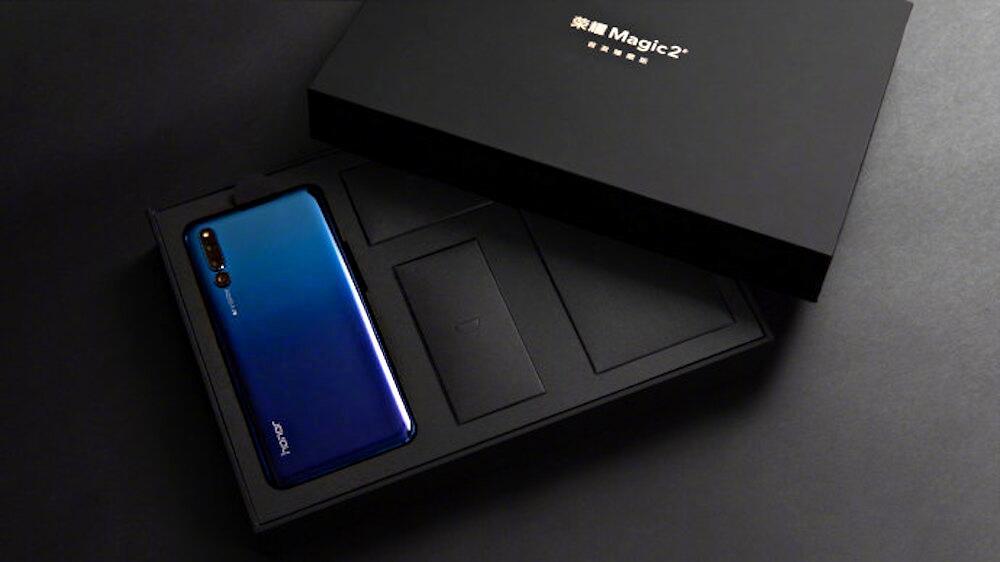 Honor Magic 2 Blau