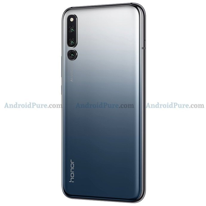 Honor Magic 2 Grau Back