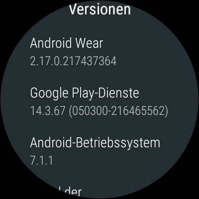 Huawei Watch 1st Gen Update