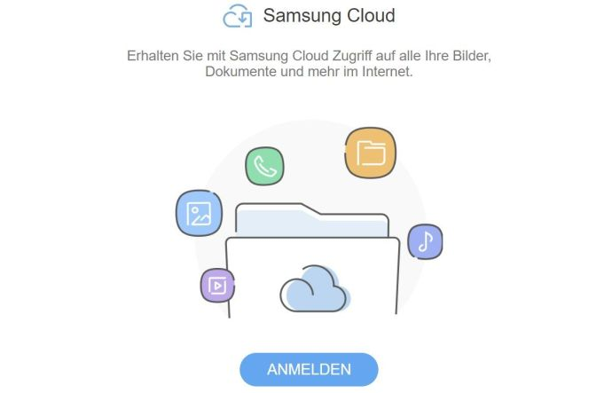 Samsung Cloud Google Chrome