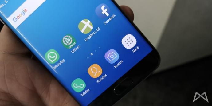 Samsung Galaxy S7 Eingebrannter Kreis Keinen Plan Was Genau