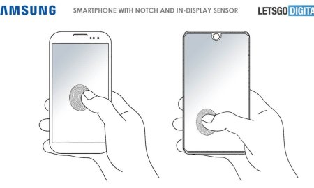 Samsung Patent Fingerabdruck Mockup