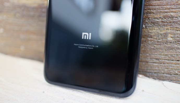 Xiaomi Mi 8 Design