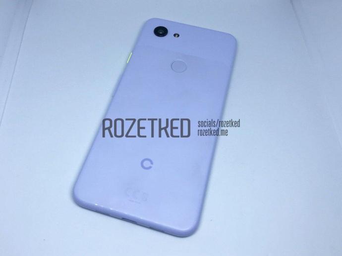 Google Pixel 3 Lite Leak Back