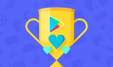 Google Play Store Award Header