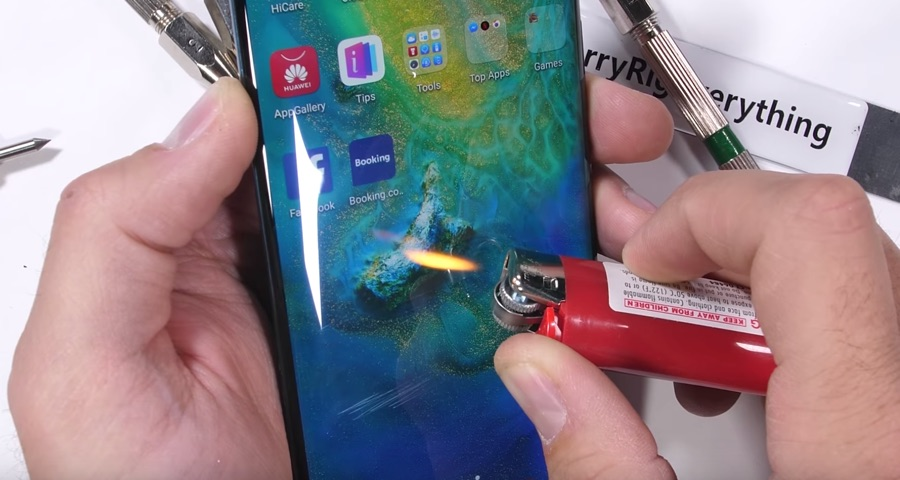 Huawei Mate 20 Pro Feuer