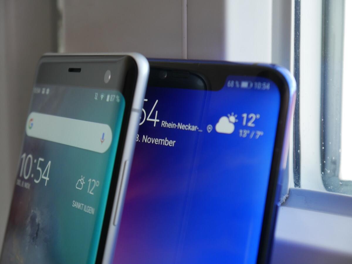 Huawei Mate 20 Pro Sony Xperia Xz3 Vergleich2