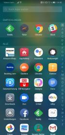 Huawei Mate 20 App Drawer