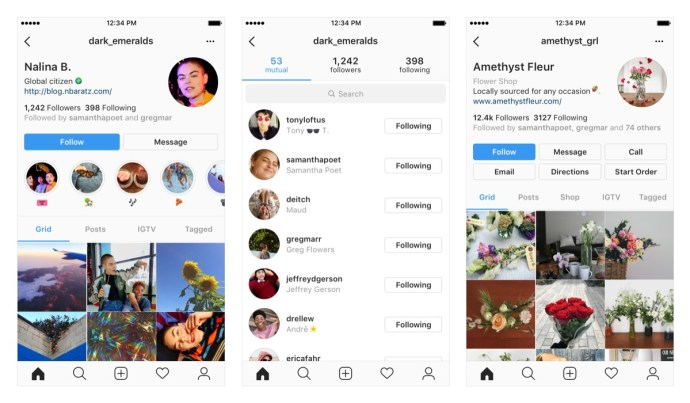 Instagram Profil Neu