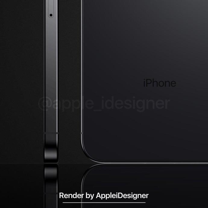 Iphone 2019 Konzept Ipad Design Black