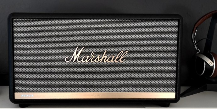 Marshall Stanmore Voice 2 Alexa Led