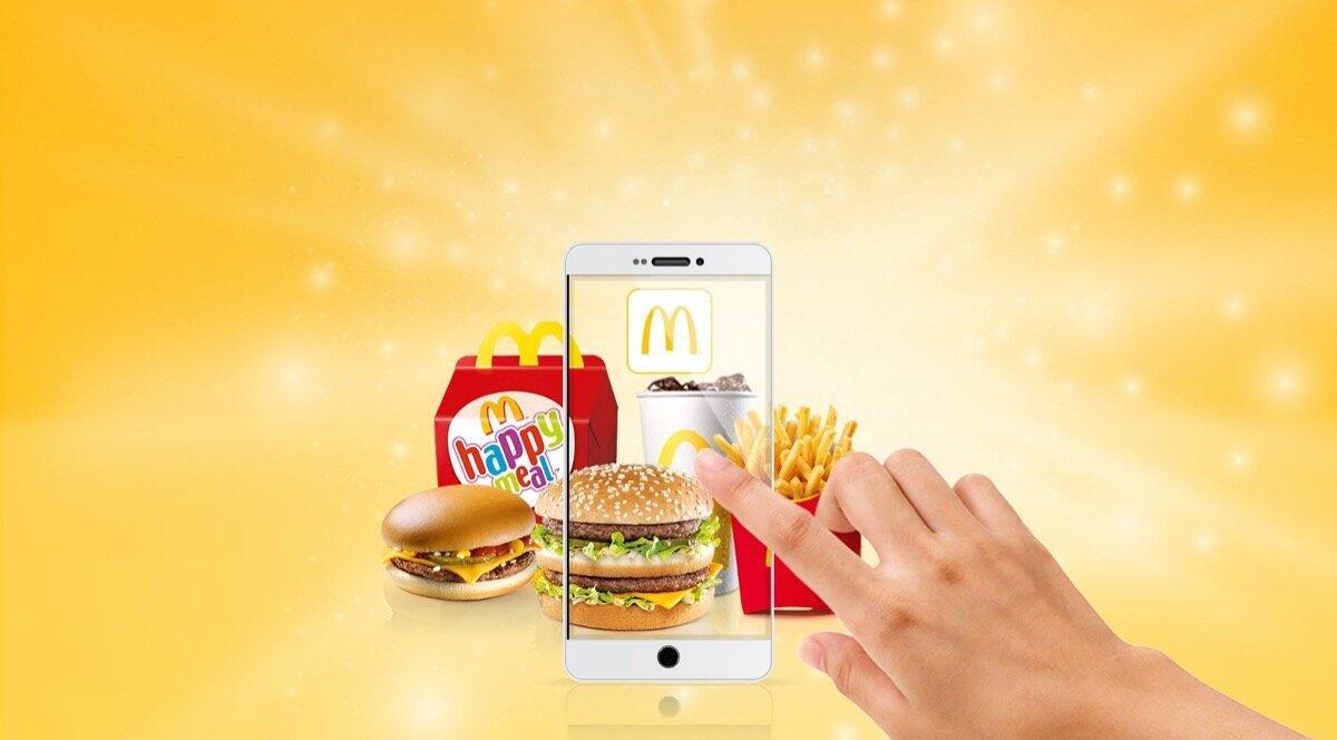 Mcdonalds App Header