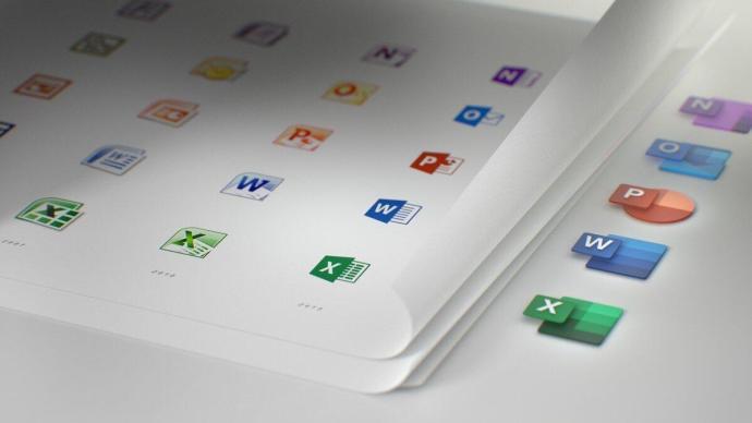 Microsoft Office Icons Header