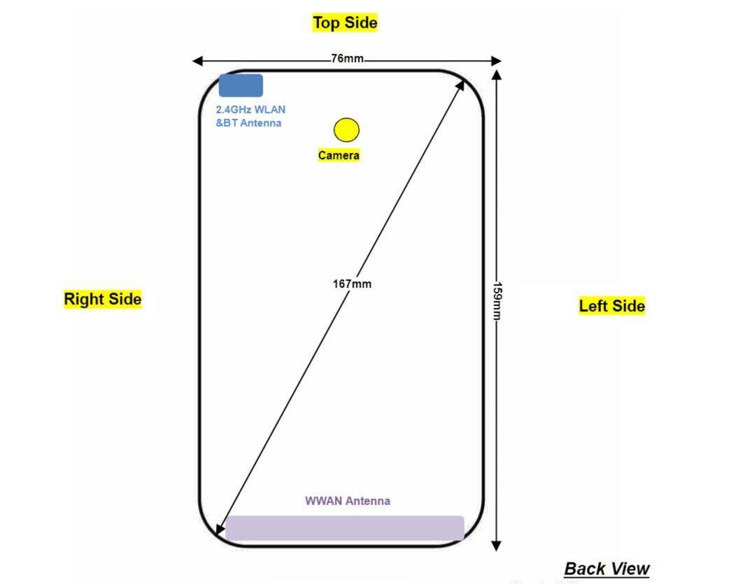 Motorola Moto G7 Power Skizze