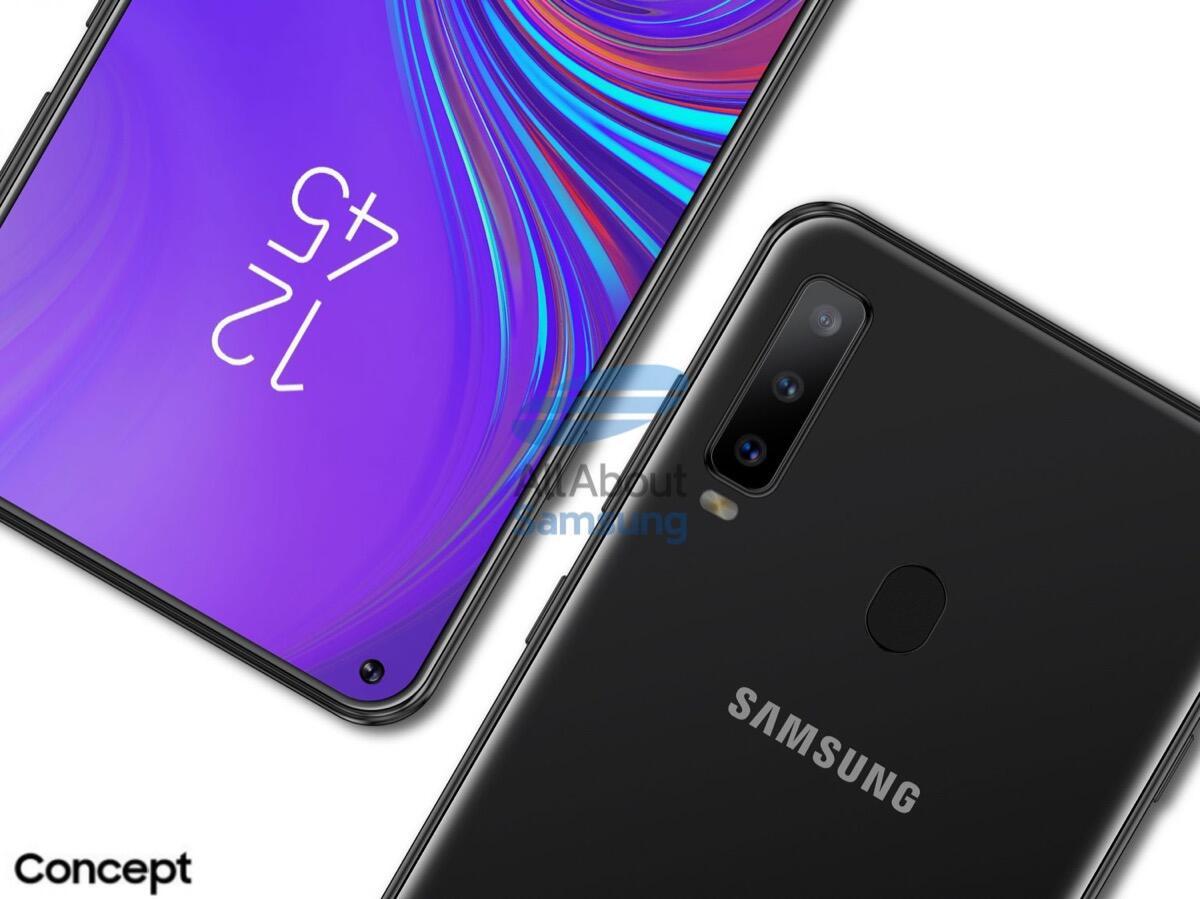 Samsung Galaxy A8s Konzept