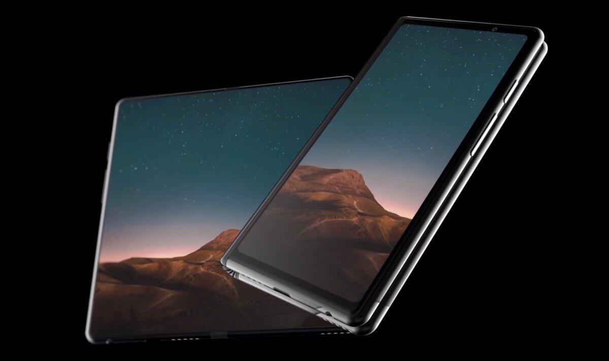Samsung Galaxy F 2019 Konzept