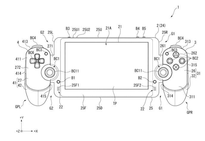 Sony Handheld Patent