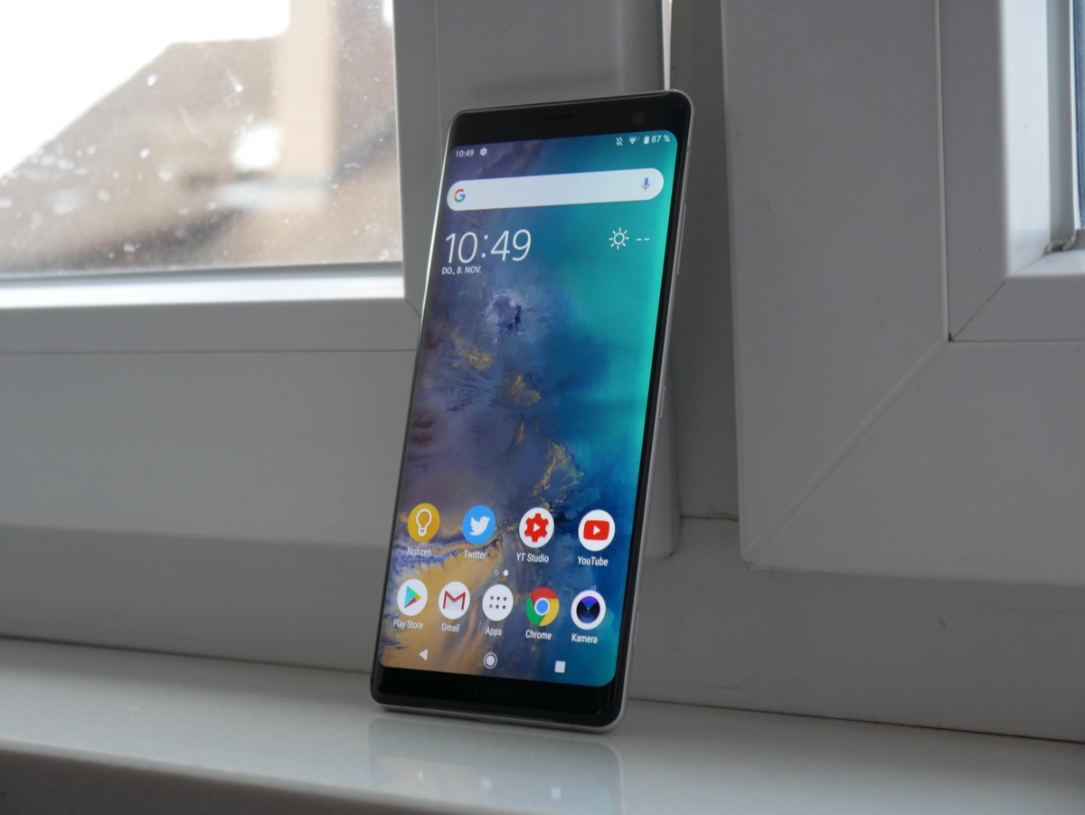 Sony Xperia Xz3 Test5