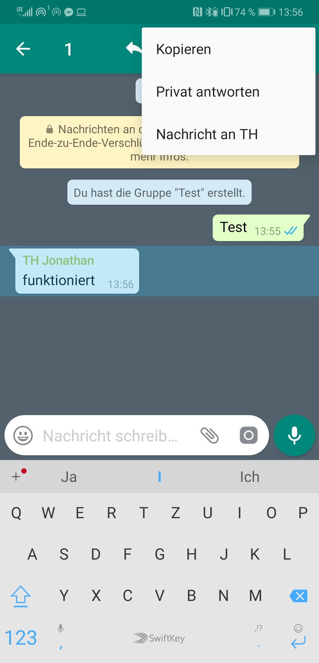 Whatsapp Privat Antworten 1
