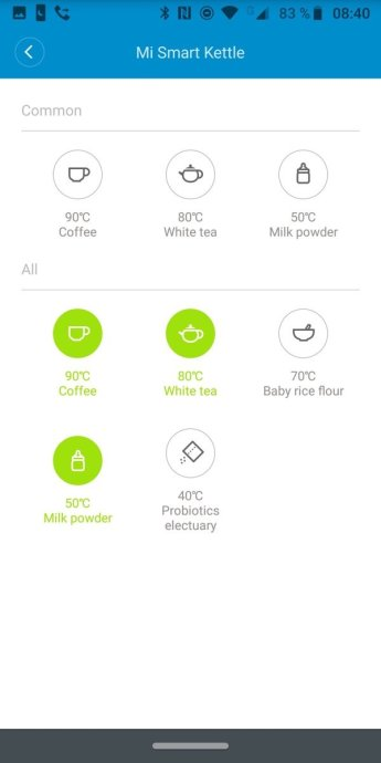 xiaomi Mi Smart Wasserkocher App 3