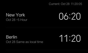 Xiaomi Mi 8 Clock
