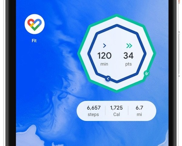 Google Fit Android Widget