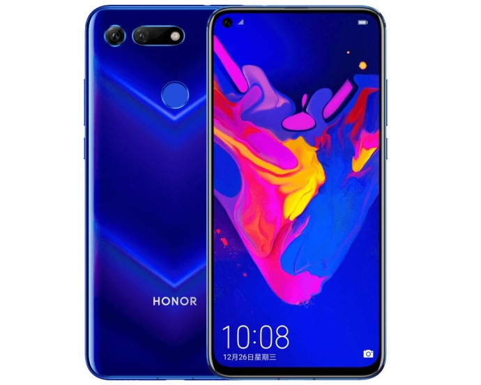 Honor View 20 V20 Header