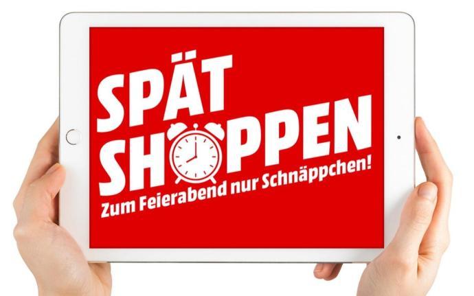 Mediamarkt Spaetshoppen