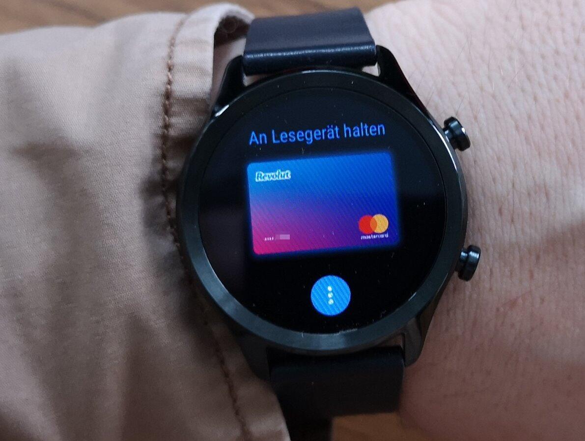 Ticwatch C2 Google Pay Revolut