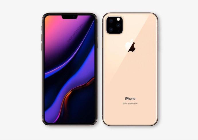 Apple Iphone Max 2019 Mockup